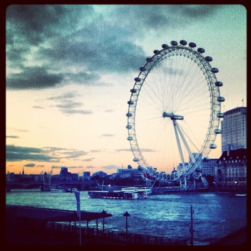 #londoneye (Taken with instagram)