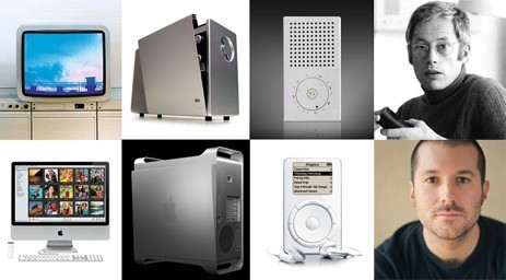 Jonathan Ive's influence by Dieter Rams