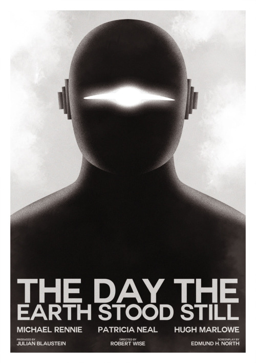fuckyeahmovieposters:  The Day the Earth Stood Still by Guillaume Vasseur