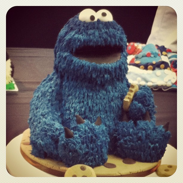Me want cookie #cakeint (Taken with instagram)