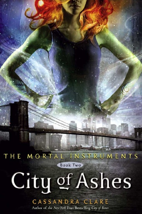 "The Mortal Instruments: City of Ashes (Book Two) by Cassandra Clare. Young Adult Urban Fantasy   Rating: 4/5 Please don't read this if you haven't read the first book! I dunno how much I will spoil, but I know I hate it when I hear absolutely anything that may have been a secret. If you decide not to listen to me, at least read my review of the first book, so this one makes more sense. In the last book, Clary's mother, Jocelyn was kidnapped by Valentine, and remains in a magic-induced coma, we find out about The Circle and Valentine's plans of genocide and world domination (haha), Clary learns some shocking truths about herself and her *gasp* brother, and basically, we've barely scraped the top of this drama. Somebody (I've no idea who…) has begun killing downworlder children and draining their blood, Jace has some unfortunate complications with his living in the Institute, and Clary has some nasty-incestual thoughts. There isn't much to say about this book that I haven't already said about the first, Jace and Simon are fun, and whatever is going down between Alec and Magnus is totally ship-worthy (they are my OTP), the writing quality is the same - slightly immature maybe, but the hilarity of the dialogue compensates - but by the time you've finished the first book, you're too absorbed in the drama to be as critical as you first were* (as I first was). OH and then Clary has to go and become so super fucking special which just makes me dislike her more. Why does she deserve that!? Why can't Isabelle be the main character with crazy powers? I like Isabelle. I also like Simon. And then I'm forced to like Clary more because Yayyy! She saved the dayyyy… I don't see the point of writing much anyway, if you weren't intrigued by my first review, there's no point starting with the second book. And I'm too terrified to go looking for pretty fanart after searching ""TMI"" *shudders* Go play on Miss Clare's tumblr. And here's another 30 Day Challenge. *Note my use of second person point of view - you don't see that often. WOW :O Hahahaha wtf?"