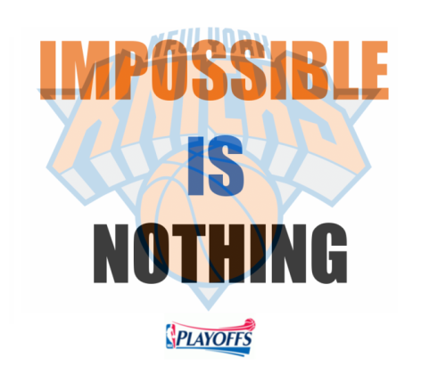 Impossible is nothing! Leggo #Knicks
