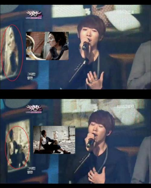 U-KISS FORMER MEMBERS KIBUM AND ALEXANDER WAS FEATURED ON U-KISS PERFORMANCE OF WHEN LOVE STOPS EARLIER AT MUSIC BANK. cr: rocketboxx  OMGG. MY FEELS ;__________________________________________; I miss you.