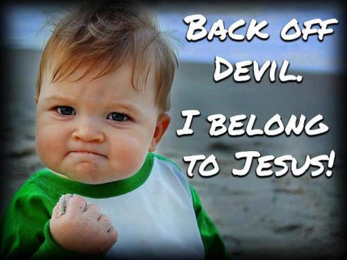pamelatuazon:  Back off devil!! I belong to Jesus!♥