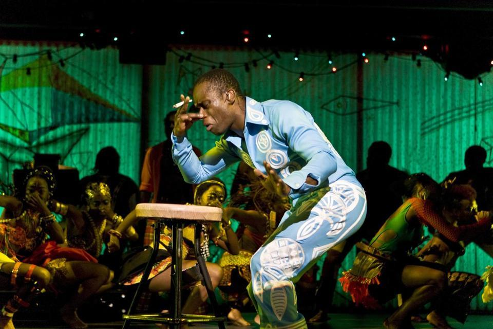 "STAGE REVIEW 'Fela!' dazzles at Cutler Majestic  - ""Fela!"" is a testament not just to the charisma of one remarkable, if flawed, man, but to the power of music to capture, channel, and communicate the spirit of rebellion. (TRISTRAM KENTON)"