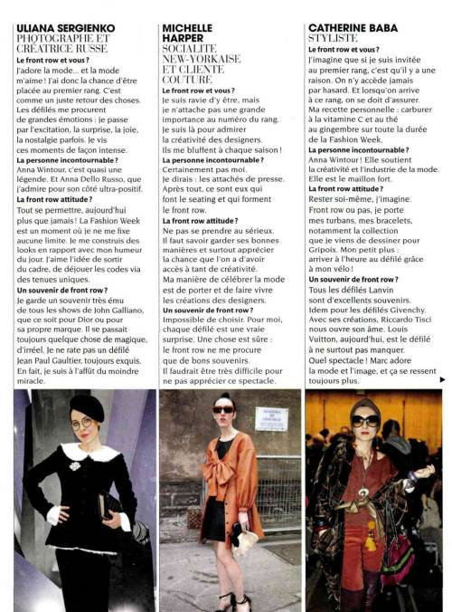 If you can read French you will know some of my stance on #fashion in @madamefigaro Perhaps I get around to translating on here - will try! It is always wonderful to be sandwiched between beautiful lovely friends - look how gorgeous they are! Adore. Xx to all always.