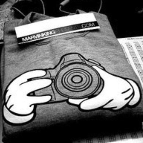 #tshirt #marvinking #camera #photography #weheartit  (Taken with instagram)