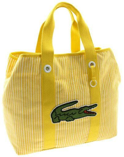 imgoingcoastal:  Lacoste Terry Beach Bag
