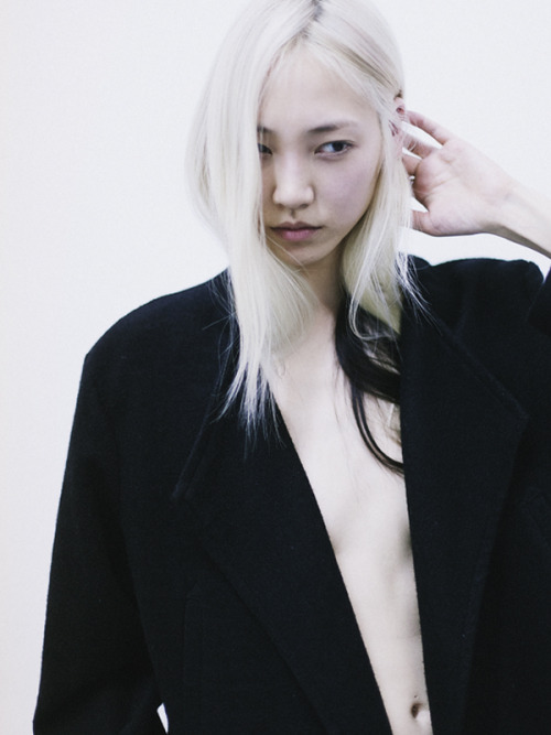SooJoo Park; Photographed by; Jonathan Waiter, with love.