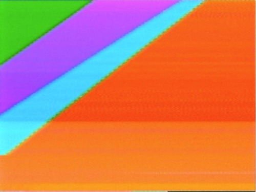 "manpodcast:  Cory Arcangel, Video Painting, 2008. Collection of the Smithsonian American Art Museum. This week's Modern Art Notes Podcast features Cory Arcangel, who is included in ""The Sports Show"" at the Minneapolis Institute of Arts. Arcangel is best-known for his tweaks of video games and his media-based tricksterism.  Unlike a lot of video art, this piece is unique. See stills and more at Arcangel's website. And wait, what's that you're saying… that Video Painting looked different when I posted it yesterday? Yup, exactly. Last year the Whitney Museum of American Art hosted a show of new Arcangel work titled ""Cory Arcangel: Pro Tools."" His work is in the collection of many museums, including the Museum of Modern Art and the Albright-Knox Art Gallery. For the show's second segment, I check in with the artist who held office hours in a former museum director's office during her show. Zoe Strauss, whose exhibition ""Ten Years"" just closed at the Philadelphia Museum of Art, explains how that unusual arrangement worked out. I wrote about my visit to her office here. To download or subscribe to The Modern Art Notes Podcast via iTunes, click here. To download the program directly to your mobile device/PC, click here or click on the image. To subscribe to The MAN Podcast's RSS feed, click here. For images of the works discussed on this week's show, click here."