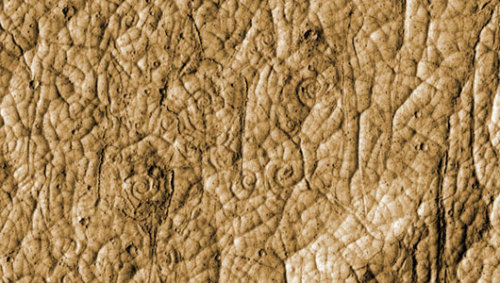 Mars lava spirals reveal volcanic secretsBy looking more closely at the lava coils in the future, scientists can learn more about Mars's crust and mantle.