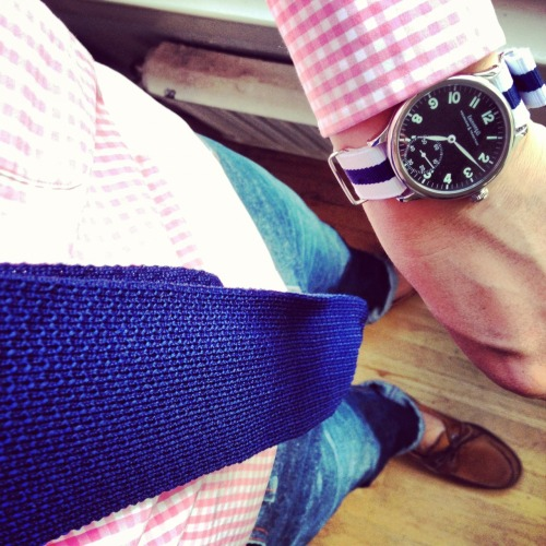 brokeandbespoke:  An early start…