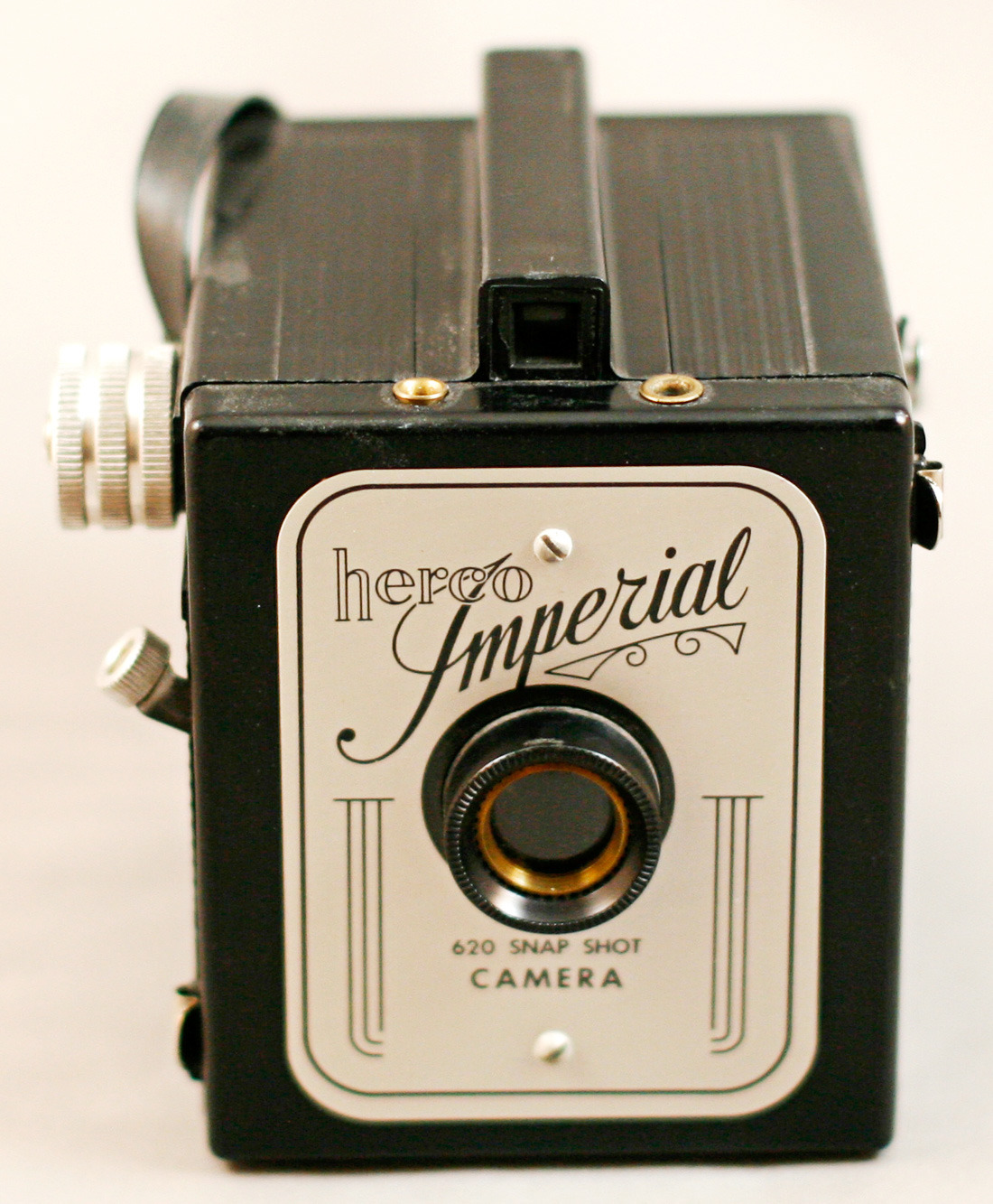 Imperial Herco 620 snapshot toy camera An antique-mall gem, which I used to kick off writing about the many cameras in my collection.