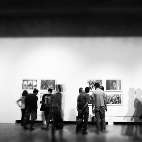 Pameran Gambara #exhibition #photography #bw #art #multiexposure #photooftheday #instago #idinstagram #instagram (Taken with Instagram at Bentara Budaya Bali)