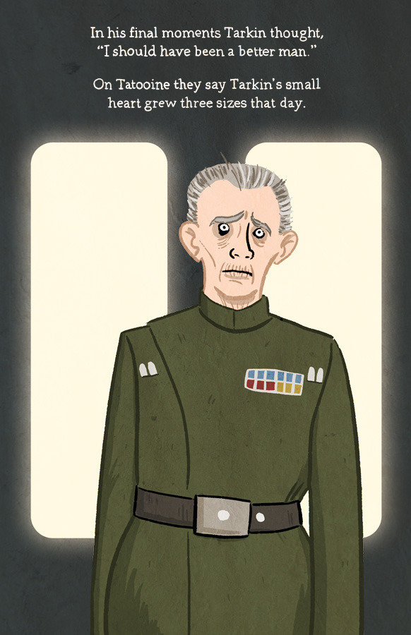 "Tarkin by Lee Bretschneider 11""x17"" matte print on 100 lb. stock. $10. Add to Cart"