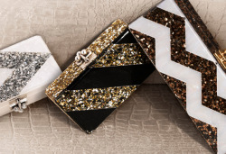 velitanyc:  Just saw these new clutches in Vogue Italia, LOVE them