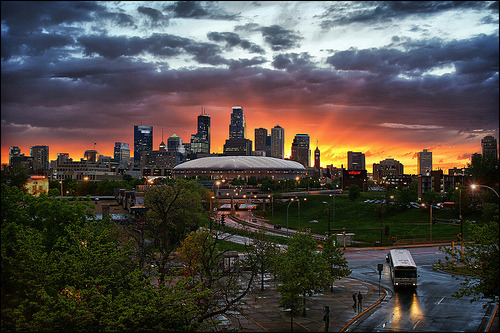 travelingcolors:  Downtown Minneapolis | Minnesota (by Dan Anderson.)