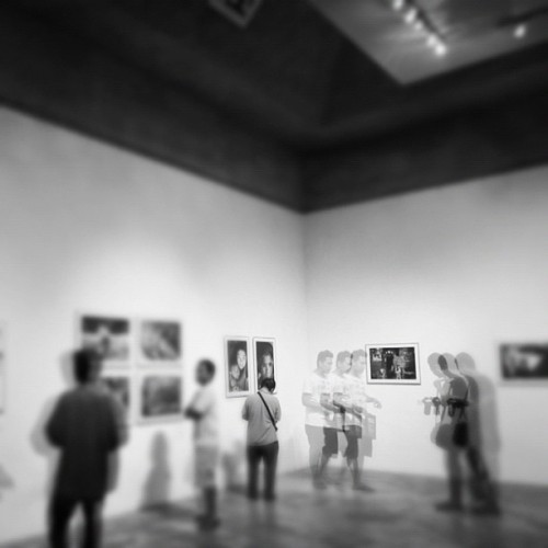 Multi exposure of @mellonmellon #exhibition #photography #bw #art #multiexposure #photooftheday #instago #idinstagram #instagram  (Taken with Instagram at Bentara Budaya Bali)