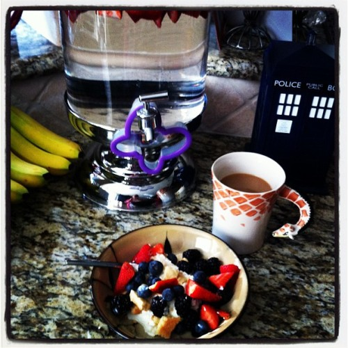 Another Fantastic Breakfast (Taken with Instagram at Jules' House!)