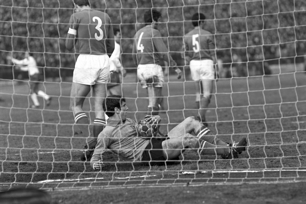 Zoff v East Germany, 1969.