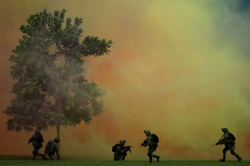April 23, 2012. Colombian special forces conduct a military exercise during the visit of U.S. Defence Secretary Leon Panetta and Colombian Defence Minister Juan Carlos Pinzon, at Tolemaida military base in Melgar, Tolima department, ColombiaRead more: http://lightbox.time.com/2012/04/27/pictures-of-the-week-april-20-april-27/#ixzz1tFoBgVaY