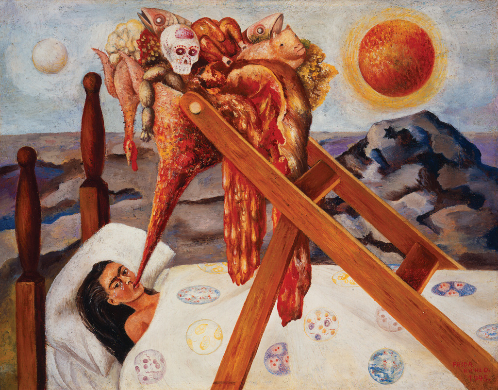 23rd-block:  Frida Kahlo, Without Hope. 1945  —The Art and Suffering of Frida Kahlo