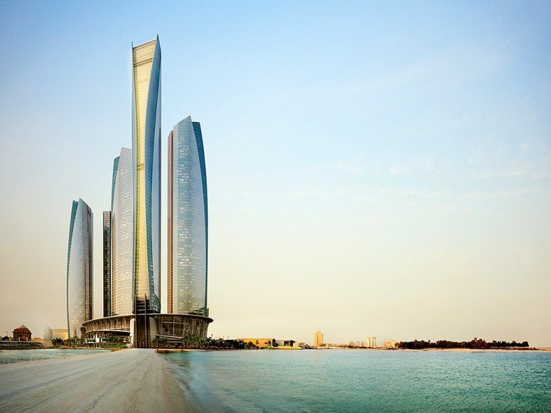 npr:condenasttraveler: Best New Hotels Under $300 | Jumeirah at Etihad Towers, Abu Dhabi, United Arab Emirates Abu Dhabi's where I was born. Always wanted to go back. Jason, this is an open invitation. Let's plan a trip some time.  — From SF.