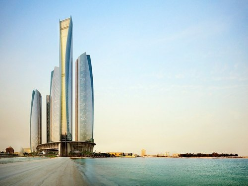 condenasttraveler:  Best New Hotels Under $300 | Jumeirah at Etihad Towers, Abu Dhabi, United Arab Emirates