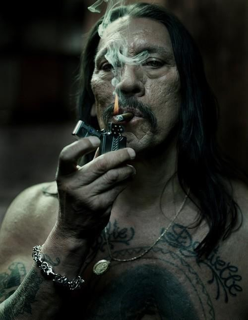 I love this guys ink and his movie roles