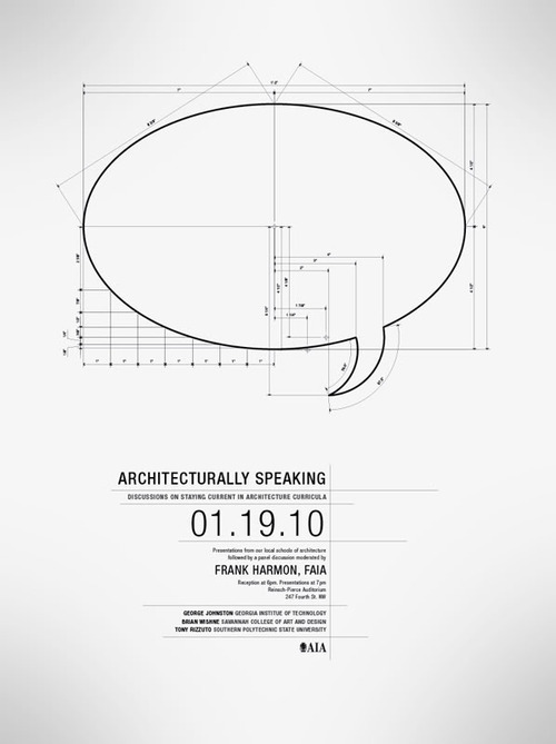 Architecturally speaking…