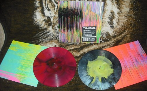 The Flaming Lips and Heady Fwends.  Ordered Record Store Day morning from flaminglips.com.  Arrived via UPS yesterday.  This is the Doctor Who sample version.  Looks like I'll be listening to a ton of great vinyl this weekend!