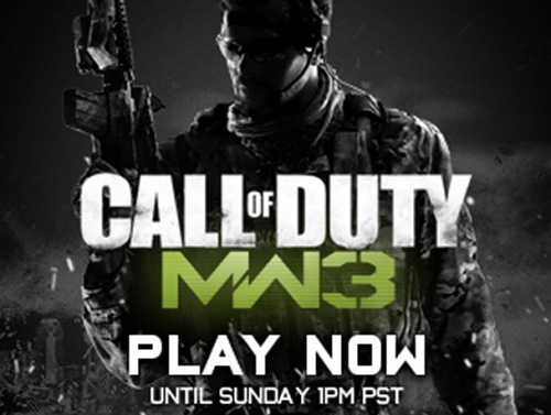 The Call of Duty: Modern Warfare 3 multiplayer is available to play for free on Steam this weekend. Additionally, you can buy the game for 33% off until Monday, 10am PST.