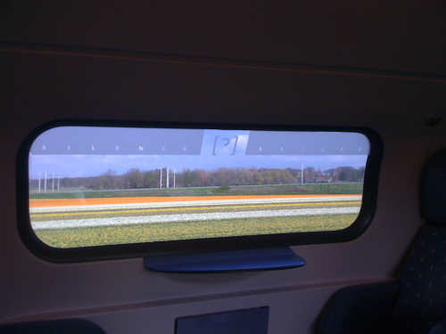 Bulb fields from train