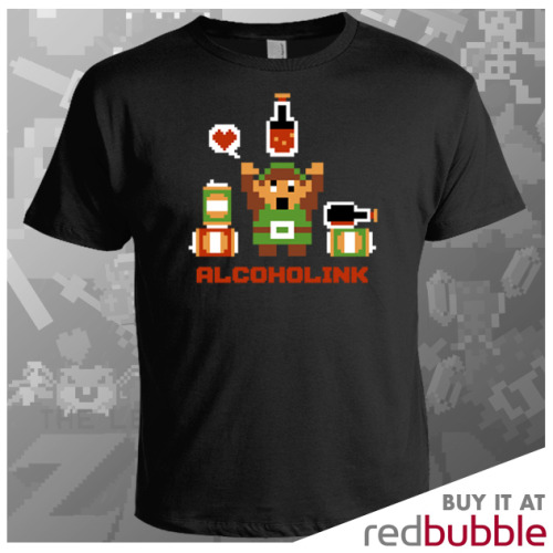 "Alcoholink is now up for sale on RedBubble! ""It's dangerous to go sober. Take this.""  Follow Harebrained on Facebook!"