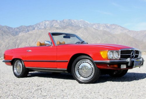 Dream machine Mercedes-Benz 1972 350SL