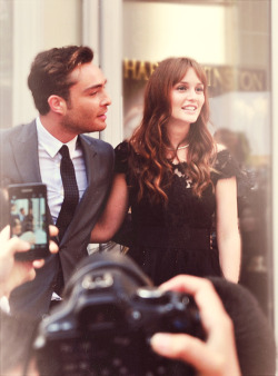 Ed Westwick and Leighton Meester (April 27th 2012) Harry Winston Store Opening Shanghai