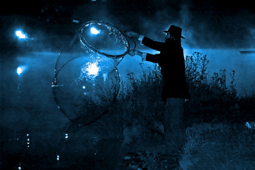The Bubble Magician by tarotastic on Flickr.