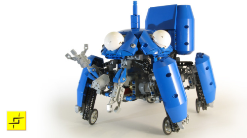thisistheverge:  Motorized Lego Tachikoma from 'Ghost in the Shell' walks, rolls, and waves at you Don't miss the amazing video. It walks!