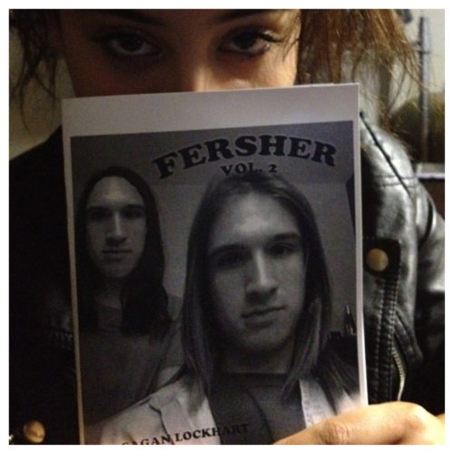 FERSHER VOLUME 2 now available saganlockhart.bigcartel.com             zine by sagan lockhart and josh terris. also featuring kyle swick, natalia mantini, tyler haley, ryan maldonado, arturo torres, kendal ford, chris zibach, drew reininger, jacob messex, devon jefferson, van styles, sage caswell, anwar carrots, ian macdonald. interview with nakel smith, kevin bradley, earl sweat. 18+. shipping will begin may 5th and ship every saturday after.
