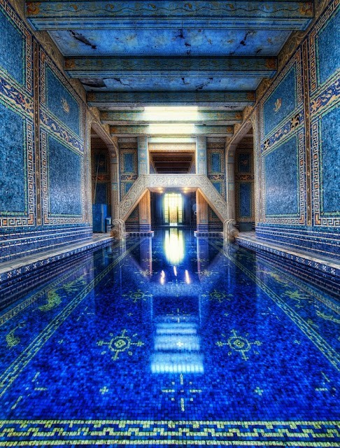 Hurst Castle indoor pool
