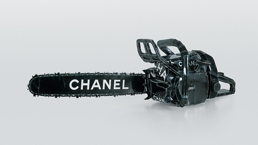ronulicny:  CHANEL chainsaw by….TOM SACHS….