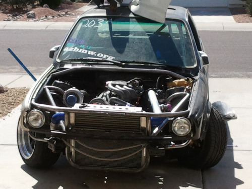bmwbabe:  Austin's E30 Turbo M20  winning