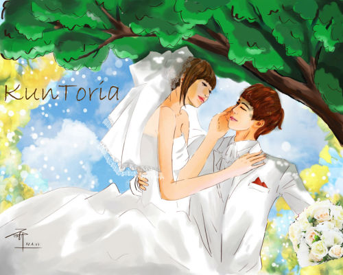 [FANART] If Its with You, I do - Khuntoria Wedding cr: as tagged -Vo
