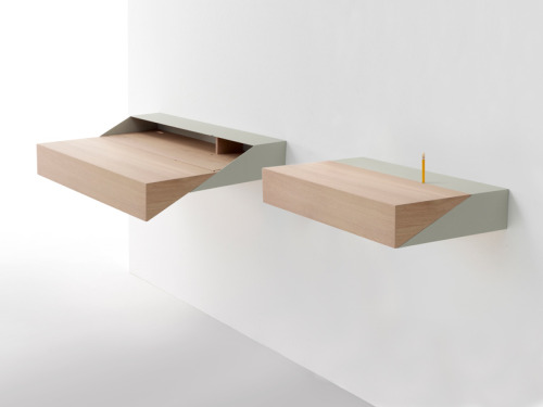 Deskbox, Raw Edges, for Arco. Via DesignBoom.