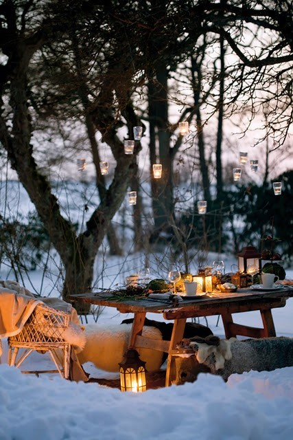 cold, but dreamy dining