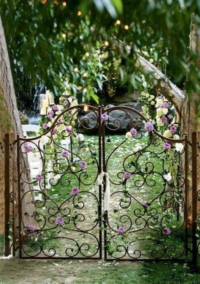 Marriage in a secret garden
