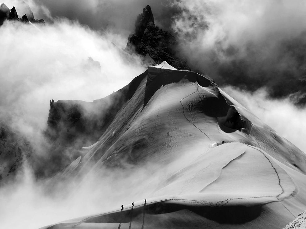 Alpine Climbers by Tommy Harris