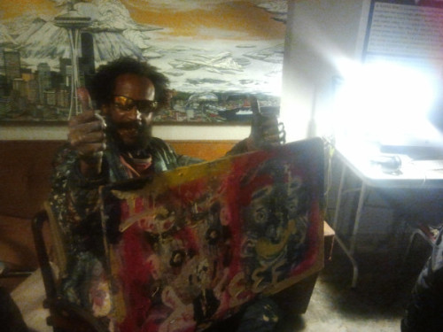 Darryl the Artist, special guest on this month's Art Show with Selector OC Notes. Check out CENTRAL SOUNDS 9 - 11pm (pacific) every Wednesday night on Hollow Earth Radio.