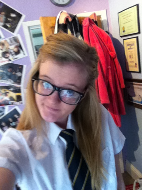 School uniform!