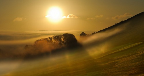 Mist, Offerton moor, Peak District by Allan R Chapman on Flickr.